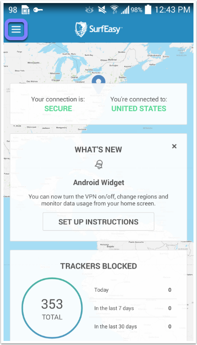How to change your country on your Android device – SurfEasy